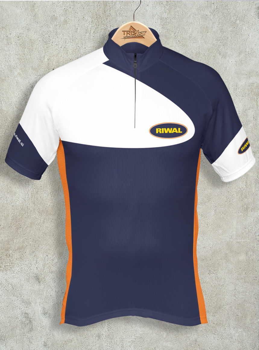 Kolesarska majica Riwal coolmax
