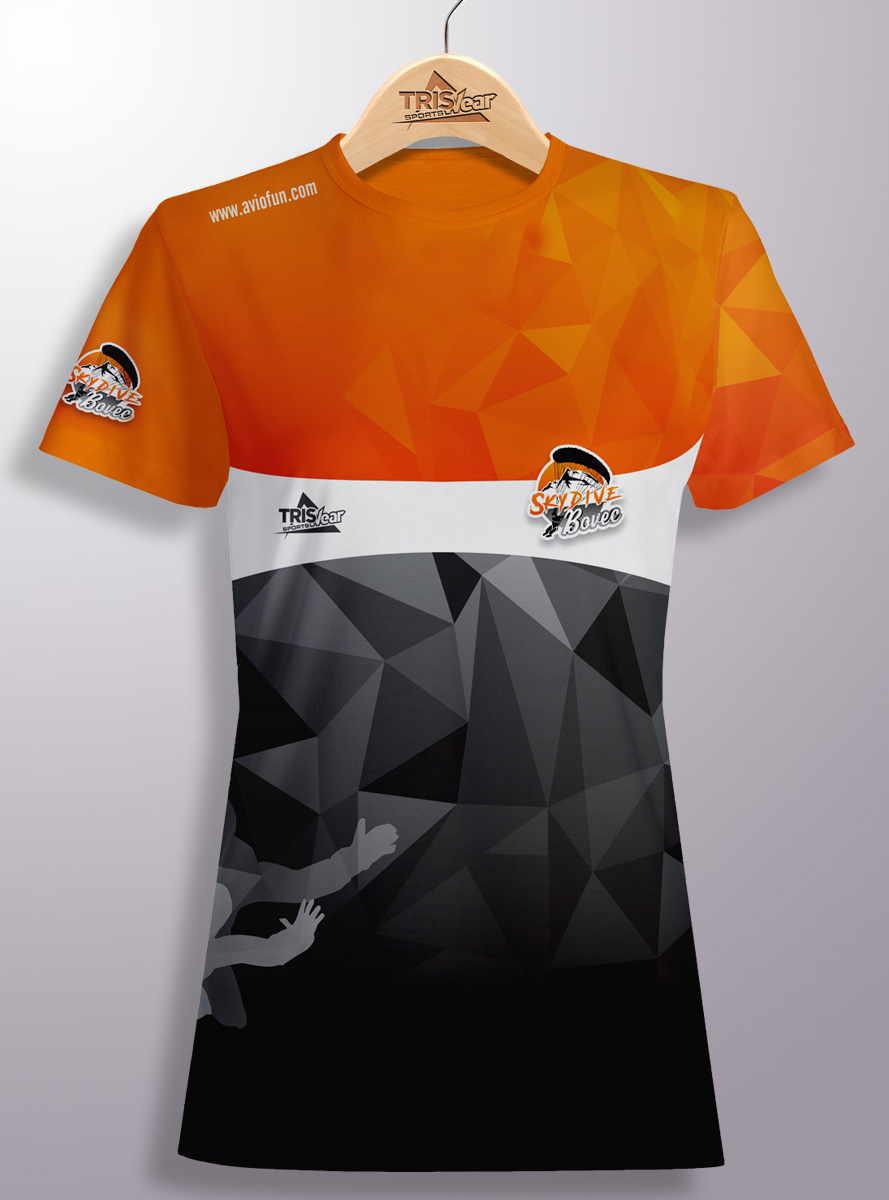 Personaliozirana majica Skydive Bovec coolmax