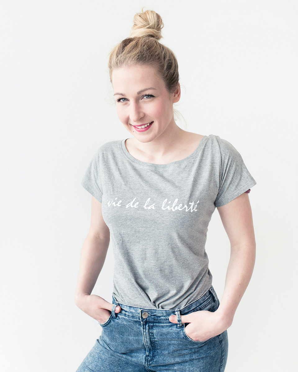 Majica z napisom bel sitotisk