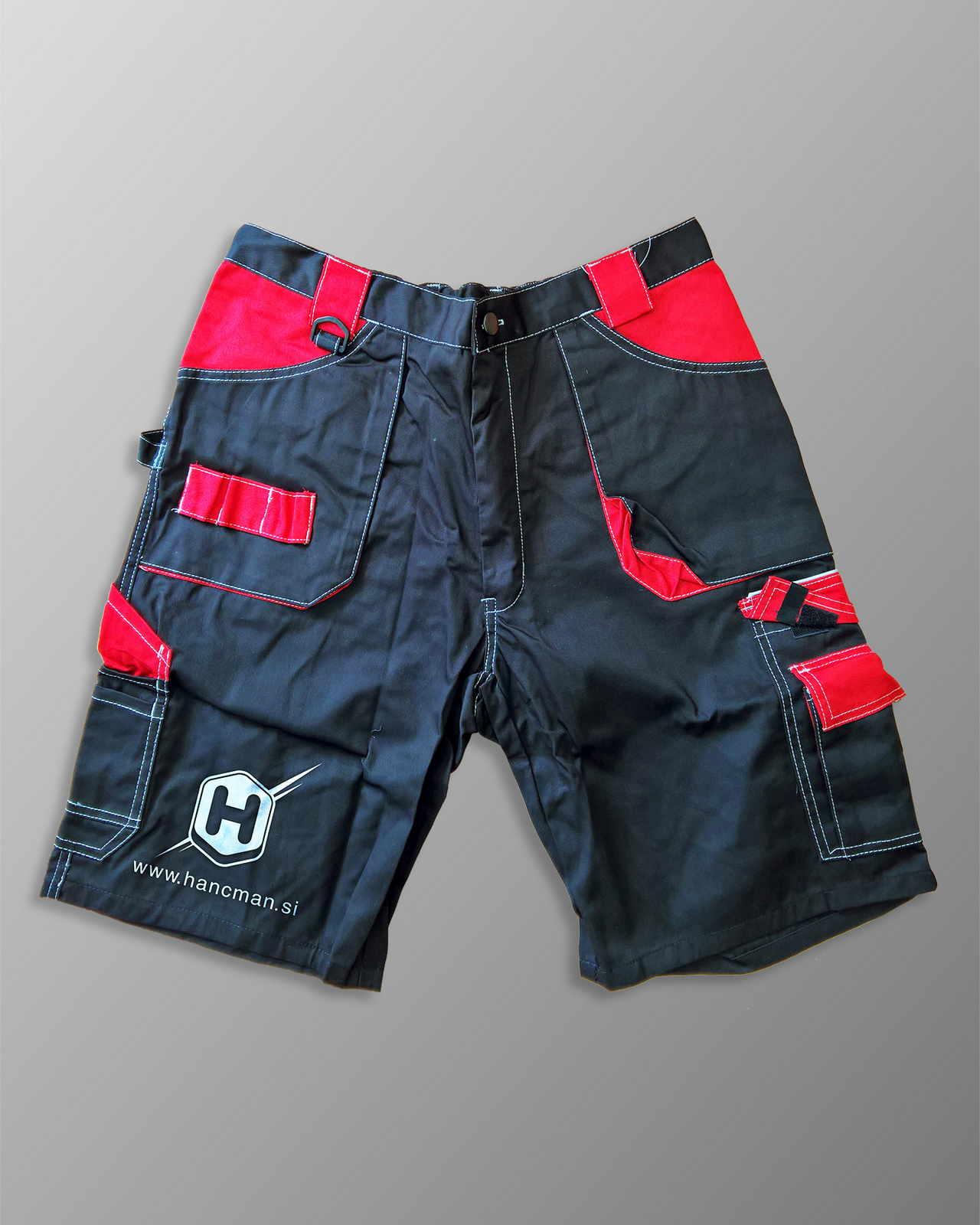 Delovne kratke hlače tisk Hancman