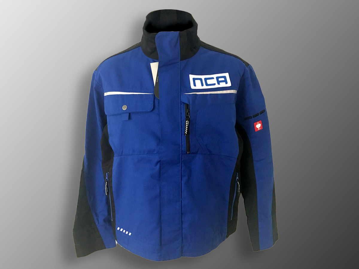 Našitek na delovno jakno