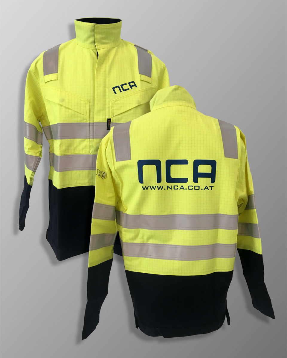 Tisk delovnih oblačil NCA