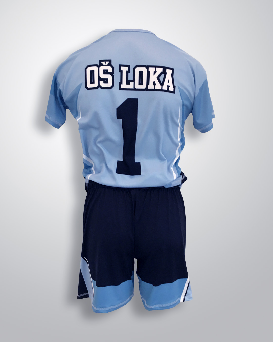 Unikatni nogometni dres OŠ Loka coolmax