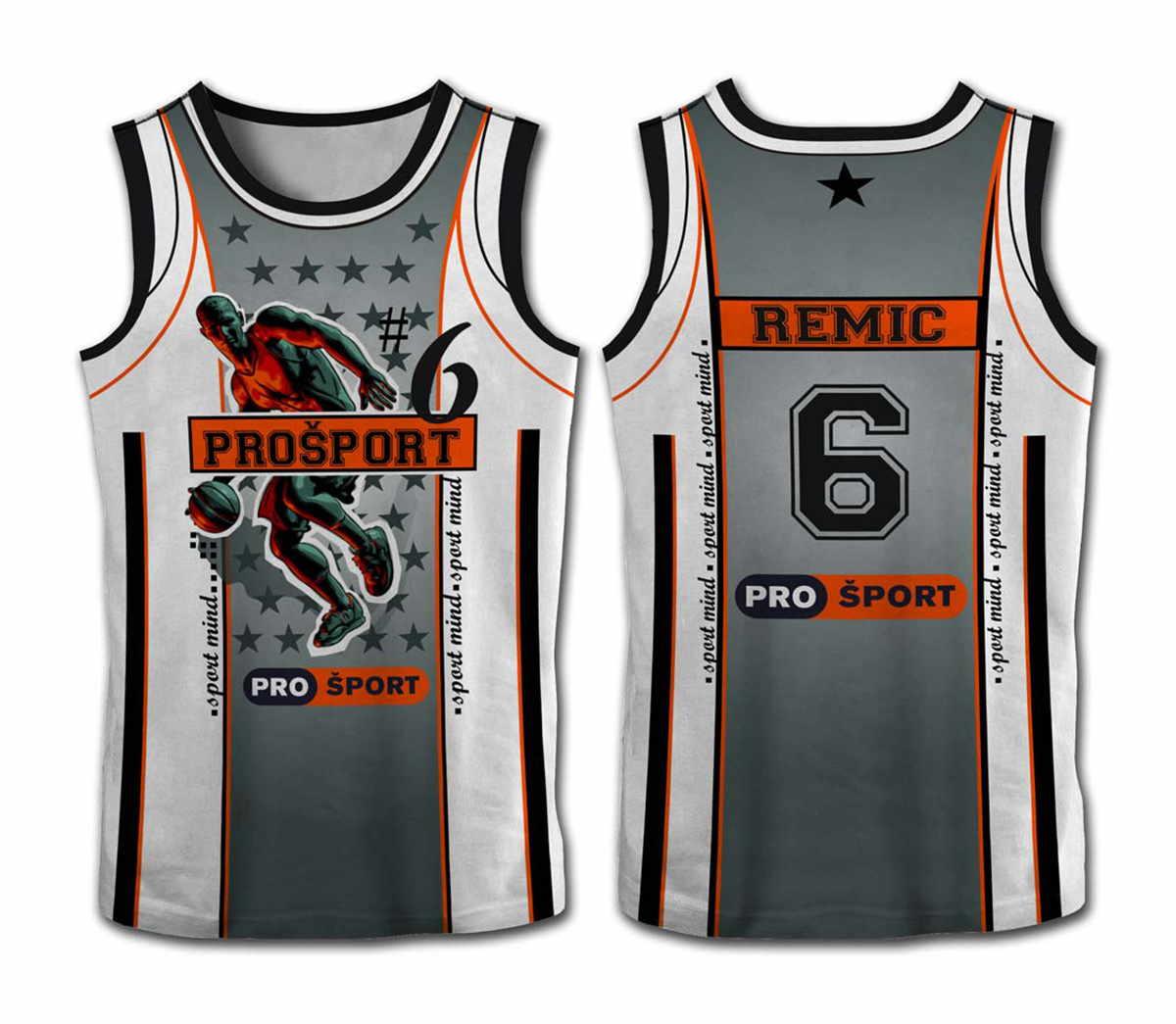 Košarkarska majica fullcolor