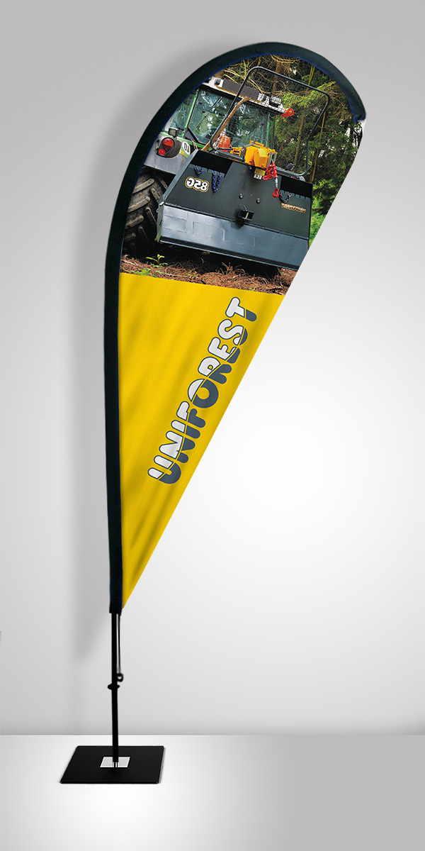 Beachflag Solza Uniforest
